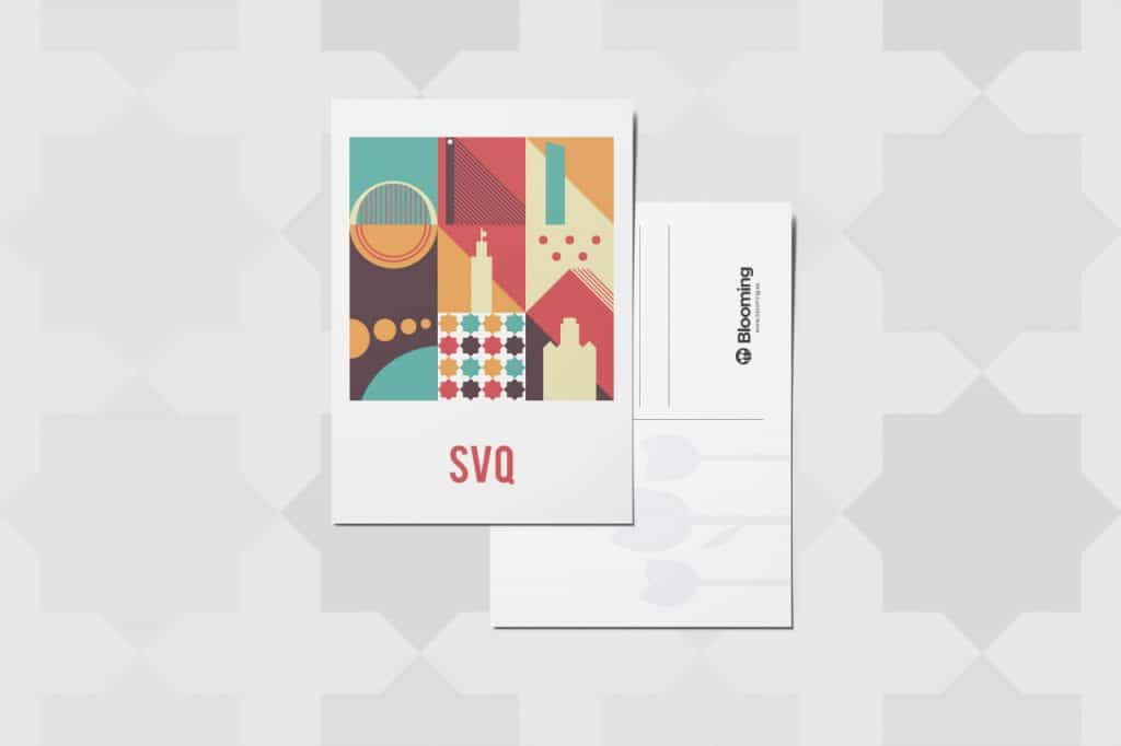 Postal Blooming SVQ