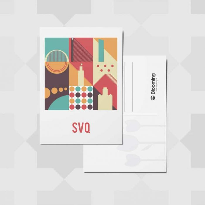 SVQ Postcard – Pack of 5